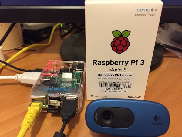raspberry pi 3 machine