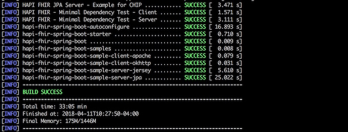FHIR Server Up and Running